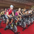 Stock Photo: Spinning marathon