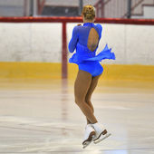 Bilinmeyen skater rekabet — Stok fotoğraf
