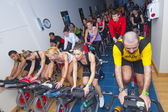 Spinning marathon challenge — Stock Photo