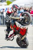 Motorcycle exhibition — Stock Photo