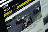 Photo of BBC Sport homepage — Stock Photo