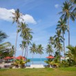 Hotel is in tropics — Stockfoto #34865097