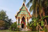 Beautiful Thai Buddhist temple — Stock Photo