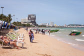 People on the beach — Stock Photo