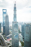 Skyscrapers CIRCA in Hong Kong — Stockfoto