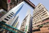 Skyscrapers CIRCA in Hong Kong — Stock Photo
