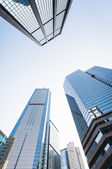 Skyscrapers CIRCA in Hong Kong — Stockfoto