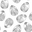 Easter egg pattern — Stockvectorbeeld