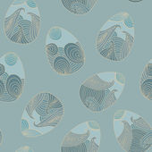 Easter egg pattern — Vector de stock