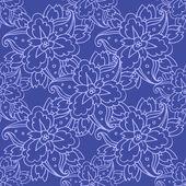 Blommig bakgrund — Stockvektor