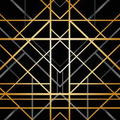 Art deco geometrik desen — Stok Vektör