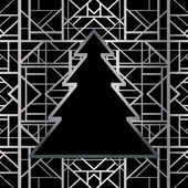 Art deco geometric pattern — Stock Vector