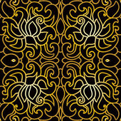 Abstract pattern in art deco style — Stock Vector