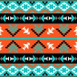 Colorful aztec pattern — Stock Vector #35741061