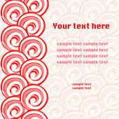 Lollipops pattern background — Vecteur