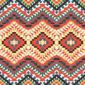 Padrão asteca colorido — Vetor de Stock
