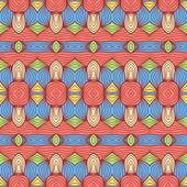 Padrão oriental colorido — Vetor de Stock