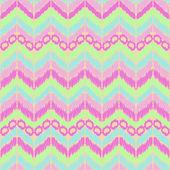 Zig zag pattern background — Stock Vector