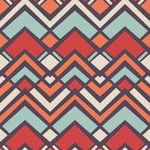 Bezszwowe wektor romb geometrycznej kolor wzór tła — Wektor stockowy