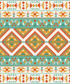 Seamless colorful aztec pattern — Stockvektor