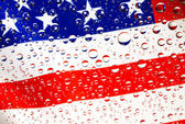Flagge der vereinigten staaten — Stockfoto