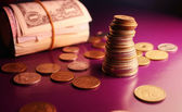 Background of money — Stock Photo
