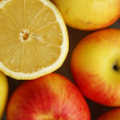 Healthy bright fruits — Stockfoto
