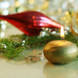 Royalty-Free Stock Photo: Background of Christmas decorations