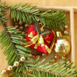 Background of Christmas decorations — Stock Photo #14286725