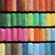 Color chalk pastels — Foto Stock