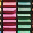 Color chalk pastels — Stock fotografie