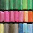 Color chalk pastels — 图库照片