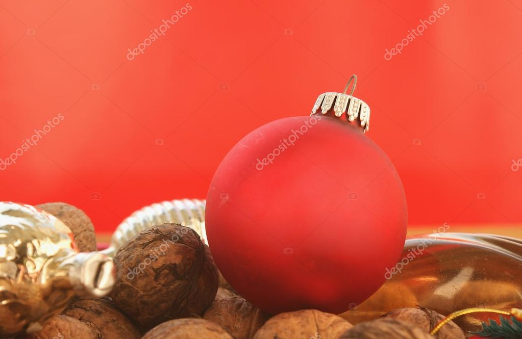 Background of Christmas decorations  Stock Photo #15755029