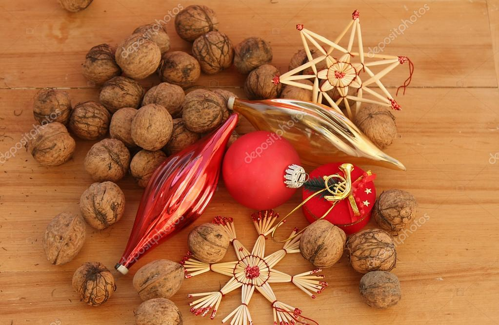 Background of Christmas decorations — Stock Photo #15755399