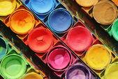 Renk boyalar — Stok fotoğraf