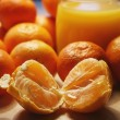 Tasty tangerines — Stock Photo