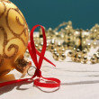 Stock Photo: Background with Christmas decorations