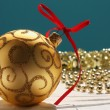 Background with Christmas decorations — Foto de Stock