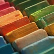 Colorful chalk pastels — Stock fotografie