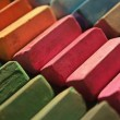 Colorful chalk pastels — Foto Stock