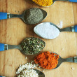 Spicy spoons — Stock Photo #37045053