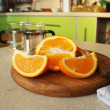 Juicy orange — Stock Photo #37175295