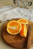 сочный апельсин — Стоковое фото