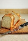 Wyśmienite, krojonego chleba — Zdjęcie stockowe
