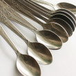 Stock Photo: Kitchen spoons