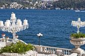 The Bosphorus from the Ciragan Palace — Stock Photo