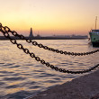 Sunset in Istanbul City — Stock Photo