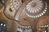 Interior view of the Blue Mosque, ıstanbul — Stock Photo