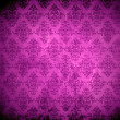 Vintage damask background — Stock Photo