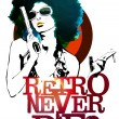 Foto de Stock  : Retro Never Dies